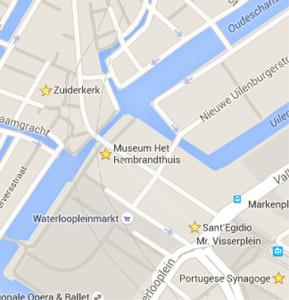 map zonder lijn rembrandthuis